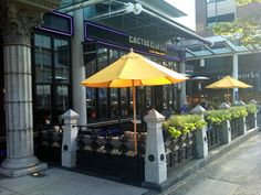 It's definitely patio weather! :)  Cactus Club, Broadway & Granville