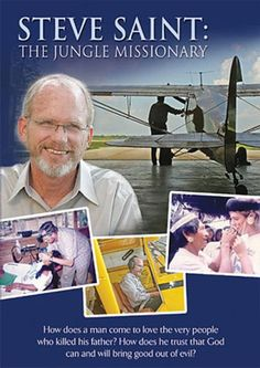 Share us with your friends and receive a 10% Off promo code good on your next DVD purchase. Steve Saint: The Jungle Missionary - DVD #christiancinema