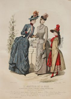 Le moniteur de la mode 1888 for A la mode salon brooklyn