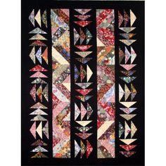 Kakadu Dreaming Quilt Pattern - Indigo Niche