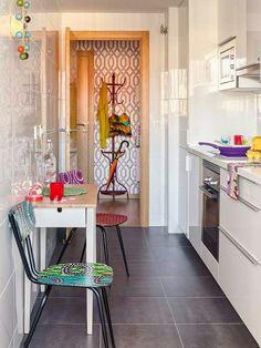 Casinha colorida: Vintage na Malaga. Mas, podia ser aqui em casa...