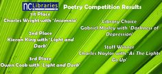 Check out the winners from this year's Poetry Competition!