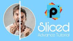 PicsArt Editing Tutorials | Sliced Advance Photo Editing Tutorial | Pics...