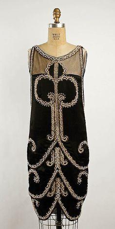 Evening Dress Callot Soeurs, 1925 Callot Soeurs The Metropolitan...
