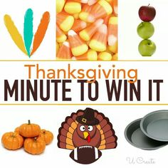 Thanksgiving minute to win it