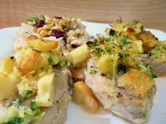 Tormás-morzsás szűzpecsenye körtés zellersalátával... Potato Salad, Potatoes, Ethnic Recipes, Food, Potato, Essen, Meals, Yemek, Eten