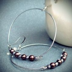 Learn how to make Gorjana's Love Story Hoops for yourself! Classic and chic earrings go perfect with any outfit.