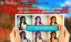 Rollip. Aplica más de 40 efectos a tus fotos, online y gratis : Recursos Gratis En Internet
