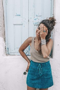 Gold_Top-Metallic_Trend-Suede_Skirt-Turquoise_Skirt-Soludos_Espadrilles-Soludos_Escapes-Mykonos-Greece-Collage_Vintage-Street_Style-100