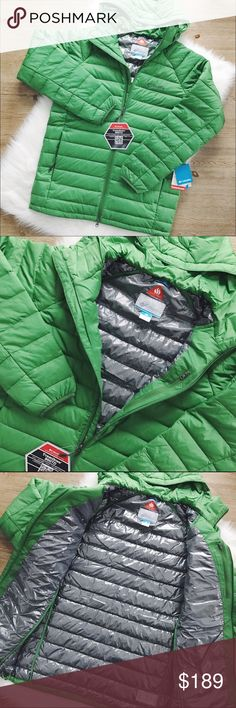 ONE DAY SALE Columbia Turbodown Omni-Heat Jacket Down+omni-heat thermal+omni-heat reflective. Water, stain &rain resistant down insulating fibers. The insulation will keep you warm in cold temperatures, 800 down fill+60g omni-heat insulation=860 TD. Fits as a M/L. NWT                     ✅FINAL PRICE✅         10% off bundle of 2 items or more!                             •NO TRADING                             •smoke free                             •fast shipper Columbia Jackets & Coats