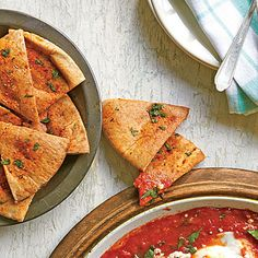 Fun Cooking, Cooking Recipes, Wedges Recipe, Appetizer Recipes, Appetizers, Food Lists, Yummy Snacks, Vegetarian Recipes, Pita Recipes