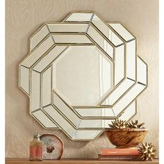 Large Gold Wall Mirror large gold floor mirror leaning against wall with bench and aloe