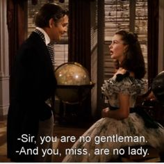 An amazing movie, certainly one of those that's worth watching over and over again. (Unless you can't watch a movie over 238 minutes). *Gone With the Wind- 1939*