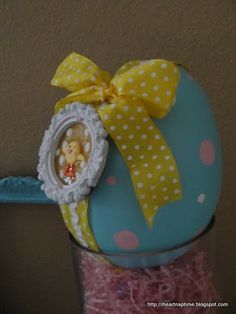 Polka Dot Easter Egg I Heart Nap Time | I Heart Nap Time - Easy recipes, DIY crafts, Homemaking