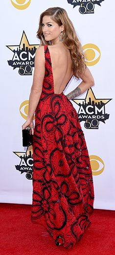 Red Carpet Celebrity Outfits, Country Music Awards, Country Music Artists, Country Singers, Badgley Mischka, Country Girls, Star Fashion, Arlington Texas, Cassadee Pope