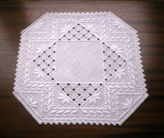 Like this pattern.  Hardanger