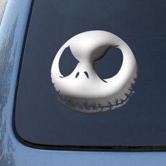 JACK SKELLINGTON - Nightmare Before Christmas - Vinyl Car Decal Sticker #1350 | Vinyl Color: Chrome