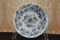 English soft paste floral sprig dish bowl by WWBdesign on Etsy, $18.00