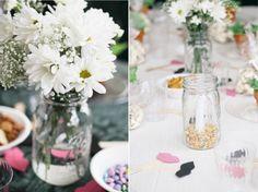 Garden Party Bridal Shower decor