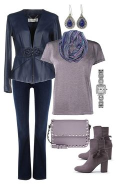 """""""Untitled #236"""" by gdhlady on Polyvore featuring Wrangler, Elisabetta Franchi, Golden Goose, NOVICA, Brighton and Valentino"""