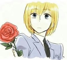 Attack on Titan - Armin : Crossover with Ouran High School Host Club