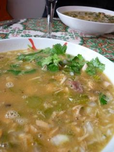 Authentic Mexican Chicken Soup Recipe
