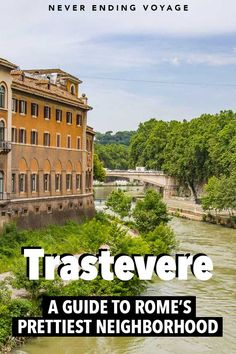 Here's why you need to stay in Trastevere, the prettiest neighborhood in Rome, Italy! Italy Travel Tips, Slow Travel, Venice Travel, Rome Travel, Places To Travel, Places To See, Travel Destinations, Verona Italy, Puglia Italy