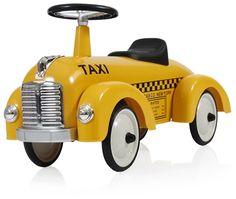 Köp Mini Speeders Gåbil Taxi Speeder Gul | Leksaker Gåbilar & Trampfordon | Jollyroom | #jollyroom #minispeeder #gåbil #leksaker #barnrumsinspo #barn