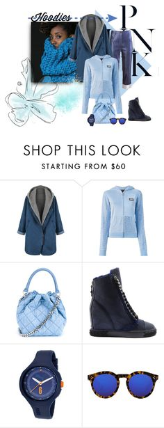 """Blue Lady"" by michelletheaflack ❤ liked on Polyvore featuring Philipp Plein, STELLA McCARTNEY, Casadei, Puma, Illesteva, women's clothing, women's fashion, women, female and woman"