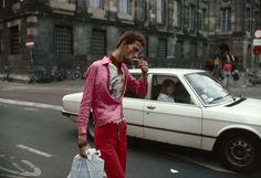 Dam, Amsterdam, 1975. Photo by Ed Van der Eslken. Via Annet Gelink Gallery.