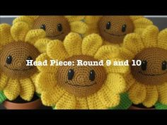 FREE PATTERN Amigurumi: Happy Sunflower – Ink & Stitches