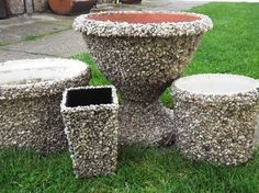 1 million+ Stunning Free Images to Use Anywhere Diy Cement Planters, Planter Pots, Beton Design, Pebble Mosaic, Garden Edging, Garden Crafts, Hobbies And Crafts, Yard Art, Decor Crafts