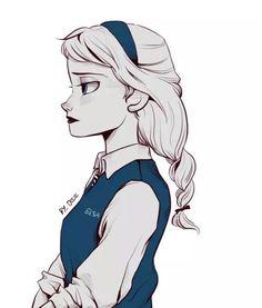 School Girl!Elsa