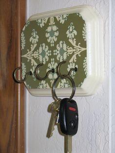 Sew Much Ado: Key Holder Tutorial.