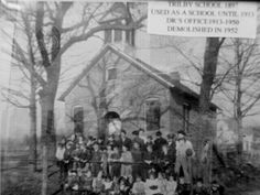 Trilby School (1897) Photograph of first Trilby School in present-day Toledo, OH