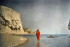 Autochrome portraits of an engineer's daughter are among the oldest surviving color photos