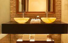 Sofitel-The-Palm Dubai reto éclairage sous plan de travail vasque