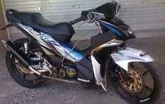 Modifikasi Motor Revo 110 FIt Motorcycle, Vehicles, Fit, Shape, Motorcycles, Car, Motorbikes, Choppers, Vehicle