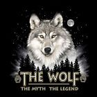 Wolf Wildlife T shirt S M L XL XXL NWT Forest  NEW Legend Black Myth Moon Cotton