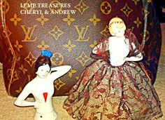 LEMP EST. (LILLIAN) ANTIQUE COLLECTIBLE GERMAN HALF DOLLS W/ ORIGINAL CLOTHES. $79.99 OBO. All reasonable offers for any of our items will be carefully considered. As always, we appreciate your business. Thank you. :)