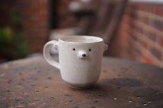 Afternoon Tea, Stoneware, Pots, Zoo Keeper, Bear, Colour, Unique, Handmade, Ceramics