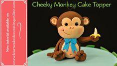 How to make a Cheeky Monkey cake topper