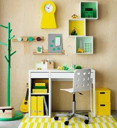 Workspaces for kids micke desk ikea petit small kids room desk Ikea Kids Room, Kids Room Paint, Ikea Kids Desk, Kids Rooms, Kids Bedroom, Bedroom Sets, Ikea Childrens Desk, Childrens Bedroom, Boys Desk