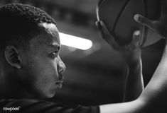 African American teenage boy concentrated on playing basketball | free image by rawpixel.com Kids Around The World, In This World, Boys Ties, Workout Pictures, Boys Playing, Teen Boys, Black Kids, Basketball Players, Young People