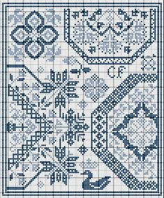Fabulous French website with LOTS of free fun cross stitch samplers and more
