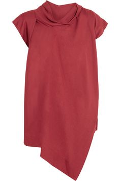 Vivienne Westwood AnglomaniaCave draped crepe topfront