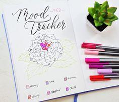 Sheena of the Journal's February mood tracker