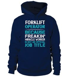 "# I'M AN AWESOME Forklift Operator .  Special Offer, not available in shops      Comes in a variety of styles and colours      Buy yours now before it is too late!      Secured payment via Visa / Mastercard / Amex / PayPal / iDeal      How to place an order            Choose the model from the drop-down menu      Click on ""Buy it now""      Choose the size and the quantity      Add your delivery address and bank details      And that's it!"