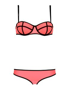LUCIE - CHAMPAGNE CORAL. Undies could be kini