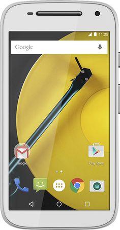Boost Mobile - Motorola Moto E 4G with 8GB Memory No-Contract Cell Phone - White - Prezzi e Sconti
